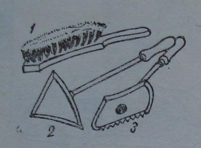 Инструменти за остъргване на старата кора