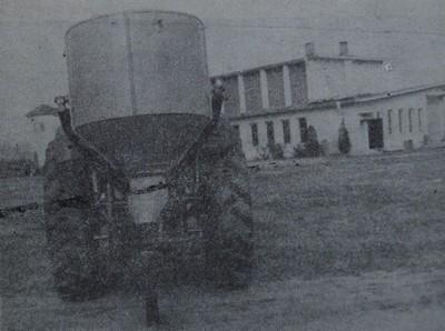 Машина Комета за дълбоко внасяне на минерални торове