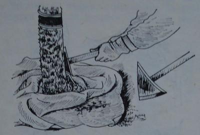 Остъргване и събиране на старата кора