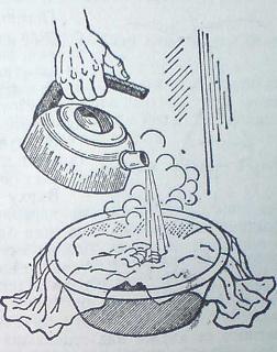 Почистване на пресни петна от плодови сокове