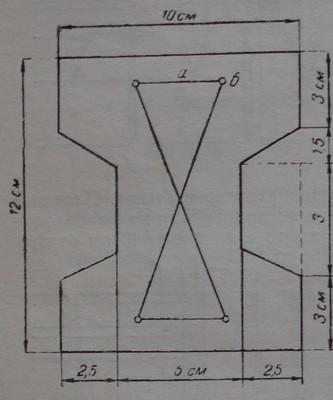 Напречно сечение на триметров бетонен кол