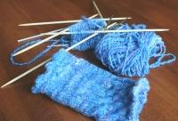 Бримки и видове бримки при плетене с две игли