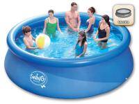 Как да инсталирам надуваем басейн в двора?