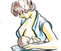 Преимущества на кърменето на бебето