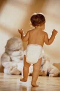 Причини за активността на едногодишно дете
