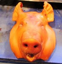 Пушена свинска глава