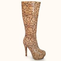 Зимните обувки в лицето на ботушите за дами